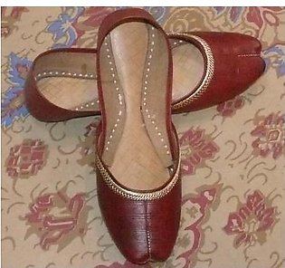 Hand-Made Pure Leather Multani Khussa for girls and women