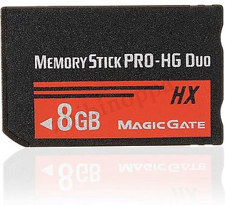 8GB Memory Stick MS Pro Duo HX Flash Card For Sony PSP Cybershot Camera
