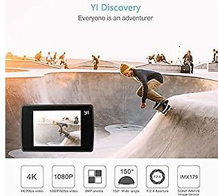 YI Discovery Action Camera 20 FPS