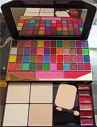 Full Professional Complete make up kit - 48 Eye shade 4 blush on lipstick and b…