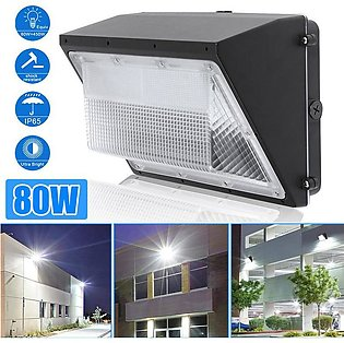 【To Global】80W 88 LED Light Wall Pack Waterproof Commercial Industrial Outdoor …