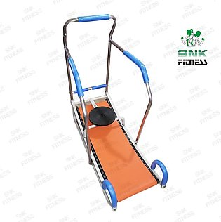 Manual Treadmill Running Machine With 23 Rollers And Twister Disc