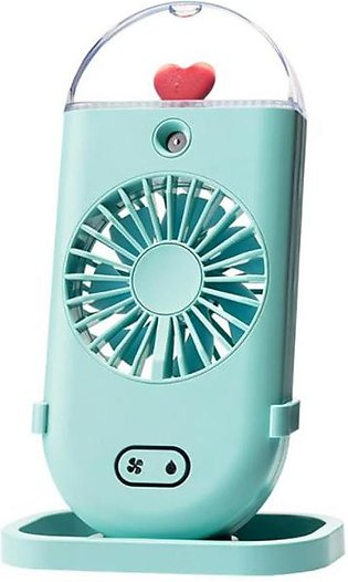 Water Mist Fan USB Rechargeable Handheld Portable Air Conditioning Humidfiying …