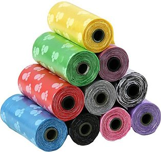 50 Rolls of Pet Litter Bags Thickened for Outdoor Cleaning of Cat and Dog Garba…