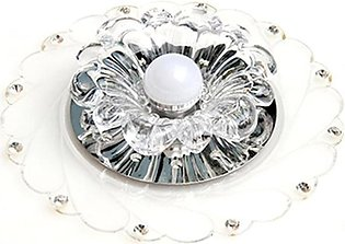 Modern Acrylic Crystal Colorful LED Ceiling Light Lamp Bedroom Home Decoration