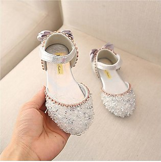 Bowknot Crystal Sandals For Baby