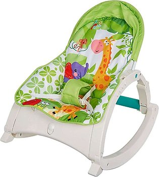 Newborn Toddler Portable Rocker with Dinner Table Baby