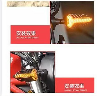 IMPORTED Quaality Running Arrow DRL indicators for motorcycle bike DRL Light 2p…
