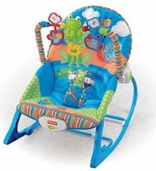 Baby Bouncer Rocking Chair With Music - Multicolor