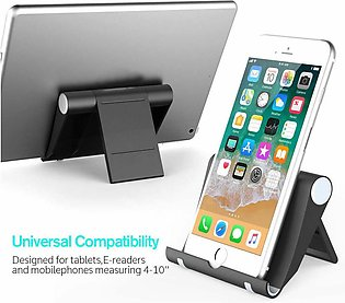 Universal Cell Phone Desk Stand Adjustable & Foldable Non-Slip Stand Holder for…
