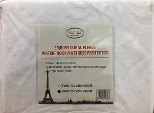 Water Proof Mattress Protector - King Size