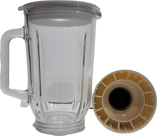 Juicer Mixer Milk Shake Complete 1 liter Glass Jug For National Juicer Machine