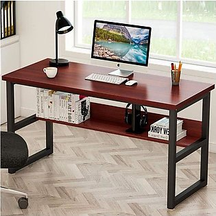 Office Table Desktop Table With Book Shelf Office Desk Book Shelf Laptop Table …