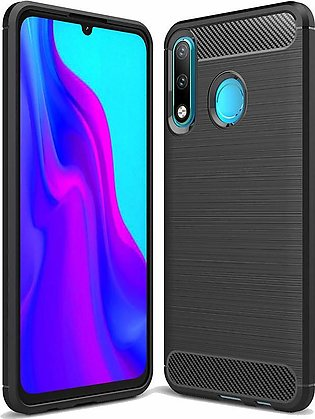 Naxtop Carbon Fiber Soft Protective Phone Case For Huawei P30 lite