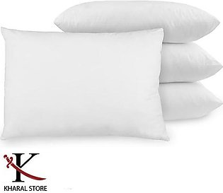 Best Quality White Pillow (Pack of 4) filled with Ball Fiber Polyester