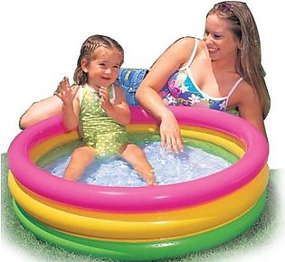 Intex Inflatable Sunset Glow Swimming Pool 45 X 10 Inches For Kids