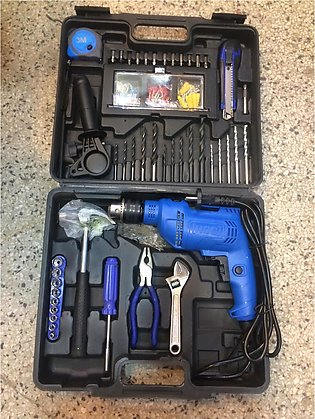 Impact Drill Toolkit Drilling  machine 500W pure copper HCC Power Tools Kit Set