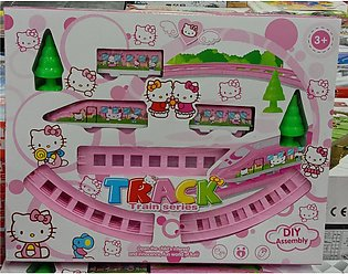 Hello Kitty Train Series Track Toy For Girls