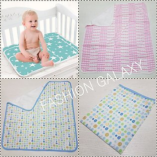 Unique Design Baby Diaper Changing Sheet And Printed Mat In Soft Fabric