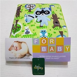 Imported NEW Design Baby Blanket/Wrapping Shawl For New Born In GREEN Color (Si…