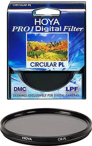52mm Hoya CPL Circular Polarizing Lens Filter - For Dslr Nikon Canon Sony Fujif…