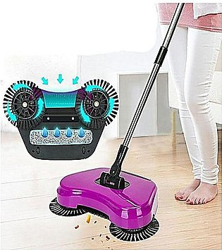Broom Dustpan Handle Push Sweeper Without Electricity