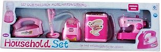 Household Cleaning Play Set - Pink