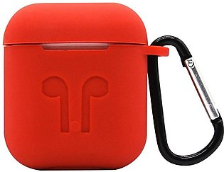 Strap Holder & Silicone Case Cover Skin For Apple Airpod Accessories Airpods