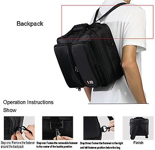 Travel Storage Carry Case Protective Controller Bag For Ps4/Ps4 Slim/Ps4 Pro/Xb…