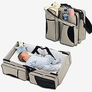Portable Baby Bed and Bag 2 in 1 Adjustable Baby Sleeping Carry Bed Bag