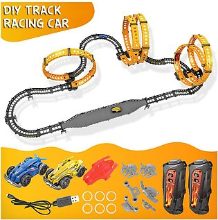 Car Track Toy Educational Creative DIY Race Track without  Racing Car for Kids