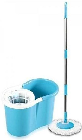 Easy Mop 360 With Steel Spinner - Blue