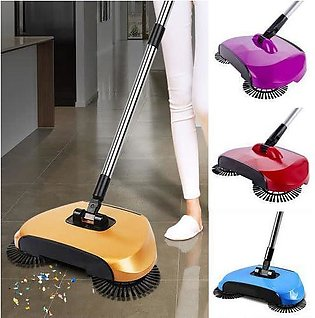 Sweeping Machine Magic Broom Dustpan Handle Push Magic Broom Without Electricit…
