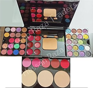 Imported Makeup Kit Complete Makeup Box - 5 Amazing Blush on plus Contour EyeSh…