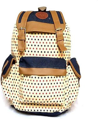 Hi Charlie Back Pack College Girls Bag-Multicolor
