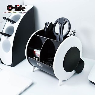 Desktop Pen Holder 2 Color Movable【O-Life】S-898 With ACCESSORIES