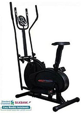 Fitness Club MT-04A - Elliptical Trainer & Exercise Bike