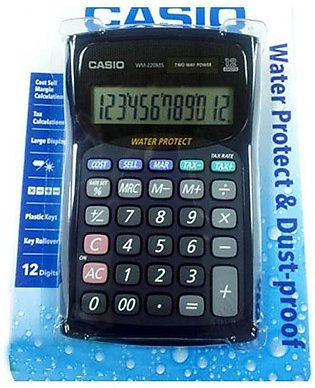 12 Digit Calculator Watch Dust Proof