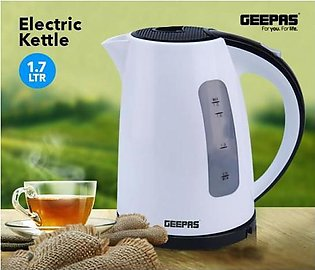Geepas 1.7 Litre Electric Kettle With Plastic Body GK5449