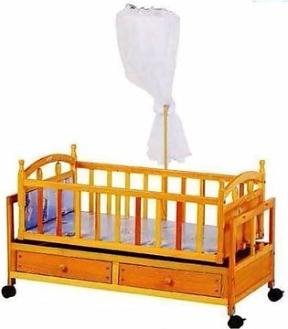 Baby Cradle For New Born - Brown