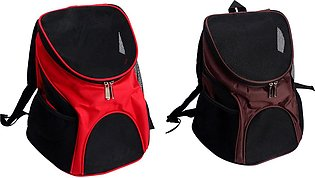 2 Pcs Pet Travel Outdoor Carry Cat Bag Backpack Carrier Products Supplies for C…