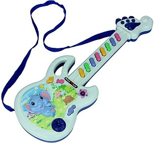 Electric Guitar Toy Musical Play Kid Boy Girl Toddler Learning Electron Multico…