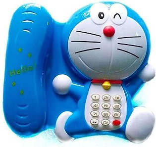 Battery Operated Telephone Toy For Kids