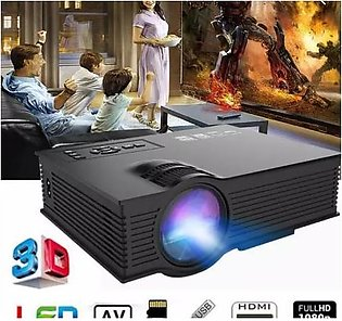 ORIGINAL: 1080p Full HD Projector UNIC UC68 + Mini WiFi Portable LED Projector …