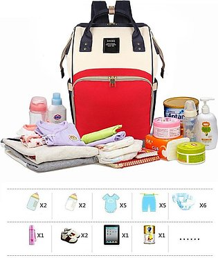 Waterproof Mom Back Pack Fashion Baby Nappy Changing Bag Backpack Mommy Mummy D…
