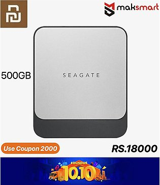 New 100% Original Xiaomi Seagate Solid State Drive Fast SSD Type-C Mobile Solid…