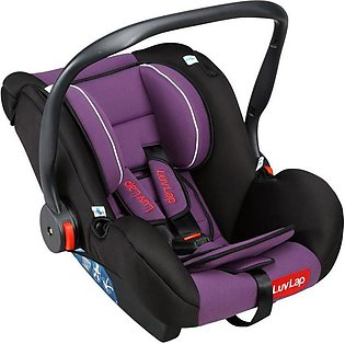 Baby Carry Cot & Car Seat - Purple