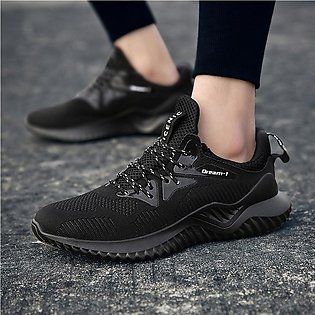 New Mens Fashion Breathable Running Sport Flat Athletic Sneakers Round Toe Shoes