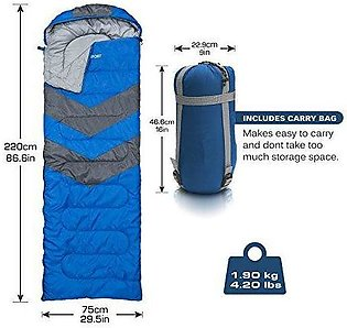 Sleeping Bag For Outdoor or Travel Comfortable and Warm