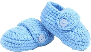 Newborn Crib Crochet Casual Baby Handmade Knit Sock Infant Shoes